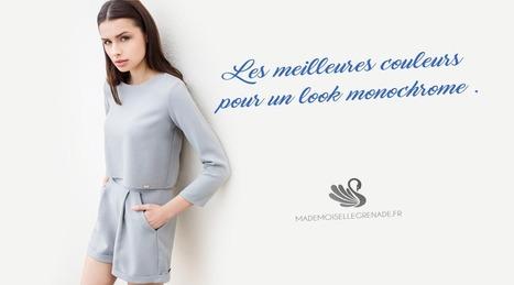 Les meilleures couleurs pour un look monochrome au top ! | La mode, la mode, la mode ! | Scoop.it