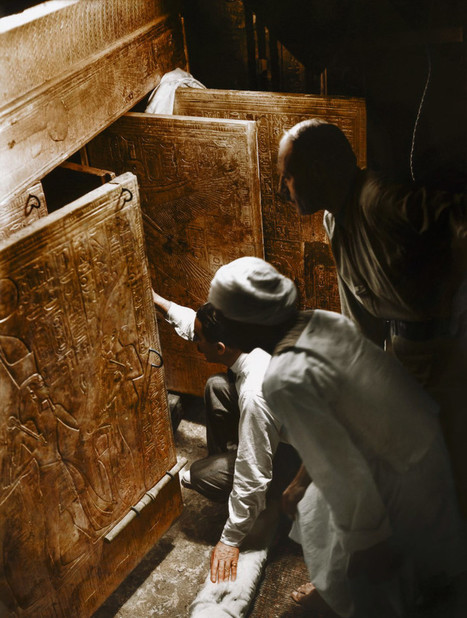 See Glorious Color Photos of King Tut's Tomb | Vloasis sci-tech | Scoop.it