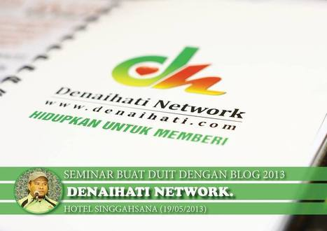 Tips Buat Duit dengan Blog dari Seminar Denaihati | profhariz.com | Blogging | Scoop.it