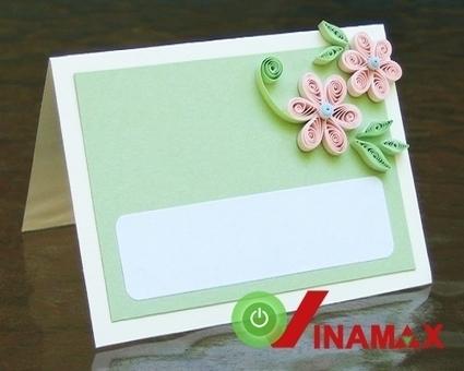 Thiệp giấy cuộn đẹp lung linh mới cách tạo điểm nhấn cho tấm thiệp Handmade | Đồ Handmade - Qùa tặng sáng tạo | Scoop.it