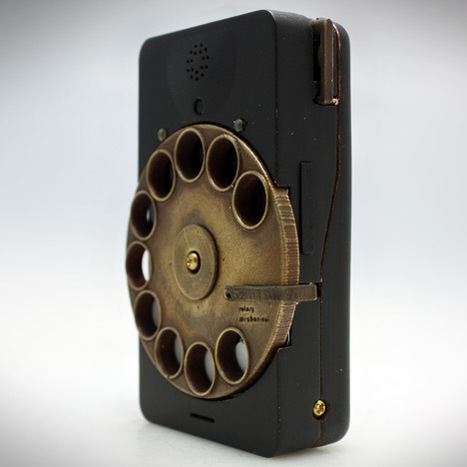 Rotary Mechanical Smartphone by Richard Clarkson | VIM | Scoop.it