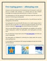 Free typing games – alfatyping.com | free online typing and free online typing games | Scoop.it
