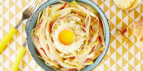 Endives braisées, en salade, compotées : nos recettes adorées ! - Femme Actuelle | Gastronomie Nord-Pas de Calais | Scoop.it