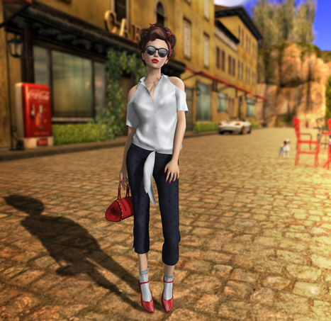 SL Style Hunter: Throwback Summer | Second Life fashion | Scoop.it