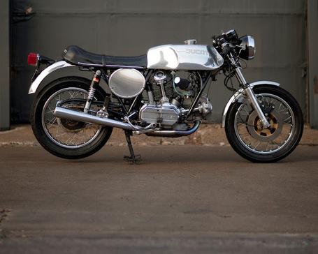 Ducati 900GTS Cafe Racer | Return of the Cafe Racers | Desmopro News | Scoop.it
