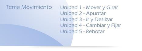 Tema 1 - Movimiento (30 Proyectos) | Programas informáticos: SCRATCH | Scoop.it