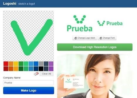 5 herramientas online para la creación de logos | Biblioteca TIC Castroverde | Scoop.it