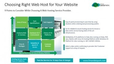 World-class, Reliable and Secure Web Hosting & IT Services at affordable rates from Oman Data Park   PRLog   Software And Technology   Scoop.it
