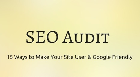 15 SEO Audit Tips Every Website Owner Should Know   Local SEO & Small Business SEO Solutions   Scoop.it