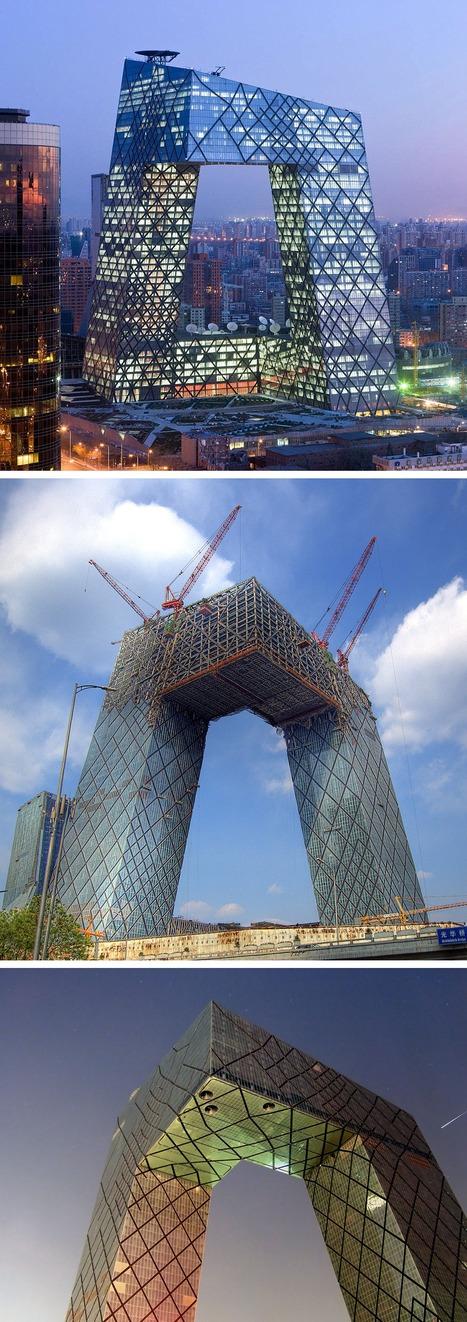 CC TV Headquarters , China | Arquitectura Del Siglo XXI | Scoop.it