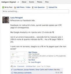 #Facebook e la pubblicità: i conti non tornano | Luca Perugini | Social-Network-Stories | Scoop.it