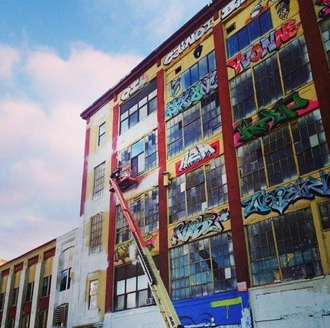 New York : la Mecque du graffiti 5 Pointz repeinte en blanc   Scènes Vivantes & Cultures Mouvantes   Scoop.it