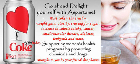 10 Facts you should know about Aspartame and other low calorie artificial sweeteners | Food Ideas | Scoop.it