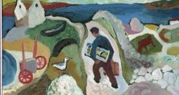 Modern Ireland in 100 Artworks 1950 –Island People by Gerard Dillon - Irish Times | Diverse Eireann- Sports culture and travel | Scoop.it