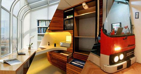 16 bureaux d'intérieur super cool qui vous donneront envie de travailler à la maison | Décoration et aménagement de bureaux | Scoop.it