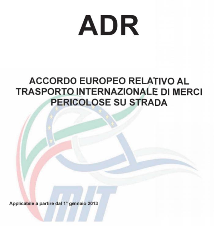 (IT) (PDF) - ADR 2013: traduzione ufficiale in lingua italiana   Ministero delle infrastrutture e dei trasporti   Glossarissimo!   Scoop.it