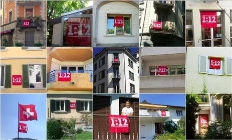 Affiche ton soutien avec le drapeau 1:12 | JUSO Schweiz - JS Suisse | 1:12 | Scoop.it