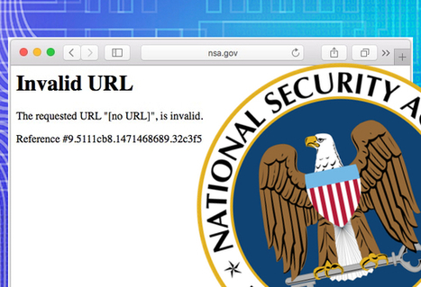 NSA website goes down as hackers auction stolen 'cyber weapons' | Jeff Morris | Scoop.it