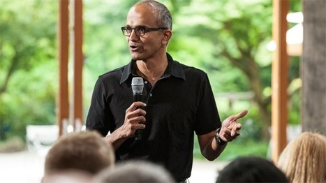 New Microsoft CEO Nadella Signals Emphasis on Innovation - Fox Business | Innovation and Startups | Scoop.it