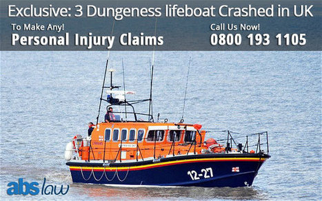 Exclusive: 3 Dungeness lifeboat Crashed in UK | Personal Injury | Official Blog of ABS Law | Do you want to Make a claim against Road Accident | Scoop.it