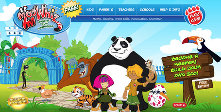 ZooWhiz | Maths, Reading, Word Skills, Punctuation, Grammar | UDL & ICT in education | Scoop.it