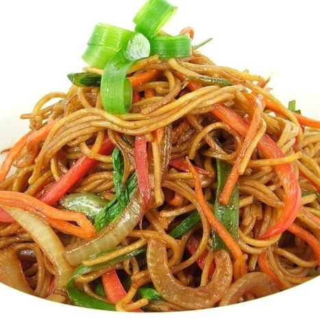 Vegetable Chow Chow (Noodles and vegetable Nepalese Style) @ Sagarmatha Nepali Restaurant | Nepalese Cuisine | Scoop.it