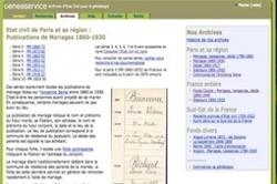 100.000 nouveaux patronymes indexés par Geneaservice.com | Rhit Genealogie | Scoop.it