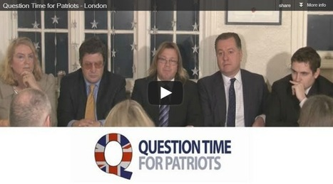 Question Time for Patriots – London | The Indigenous Uprising of the British Isles | Scoop.it