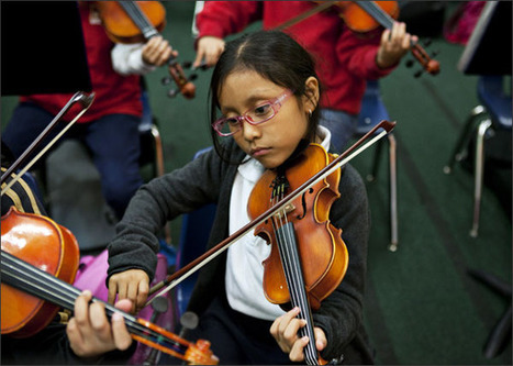 Music Training Sharpens Brain Pathways, Studies Say | Educational Technology and New Pedagogies | Scoop.it