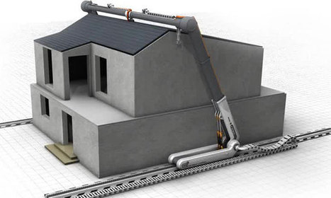 Les maisons du futur seront peut-être entièrement construites avec cette gigantesque imprimante 3D | La vie vue de l'exterieur | Scoop.it