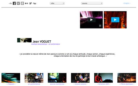 Actualisation de mon site web - Bienvenue ! sur jvoguet.free.fr   Jean VOGUET compositeur   Scoop.it