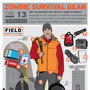 INFOGRAPHIC: 13 Essential Tools for Surviving a Zombie Outbreak | Sitä sun tätä, this and that | Scoop.it