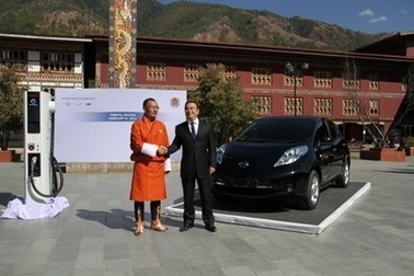Nissan LEAF to help electrify Bhutan - TheGreenCarWebsite.co.uk (blog) | Bhutan | Scoop.it