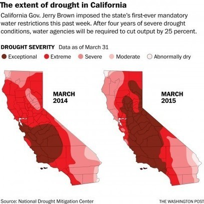 As water runs dry, Californians brace for a new way of life | Ken's Odds & Ends | Scoop.it