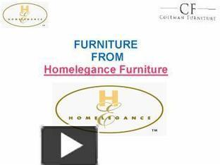 Homelegance Furniture - Coleman Furniture | Furniture | Scoop.it