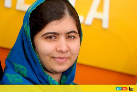 Journée des filles : le parcours de Malala - 1jour1actu | Français 4H | Scoop.it