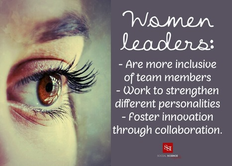 Why Women's Leadership is a Business Asset | Team Success : Global Leadership Coaching Tips and Free Content | Scoop.it