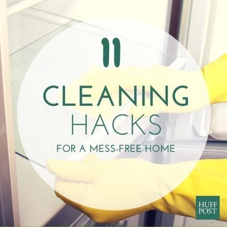 11 DIY Cleaning Hacks That Leave No Excuse For A Messy Home | Energy and the Environment | Scoop.it