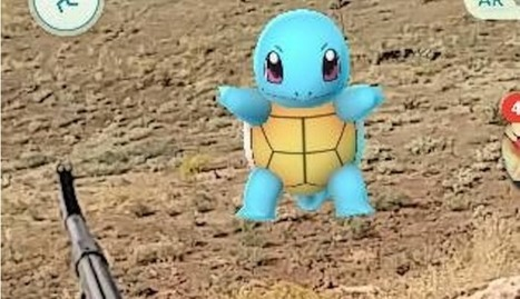 A soldier played Pokémon Go while fighting ISIS in Iraq | hokusai | Scoop.it