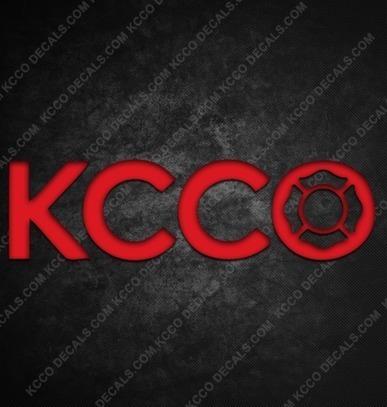 KCCO Fire Department Sticker - KCCOdecals.com | KCCO Stickers | Scoop.it