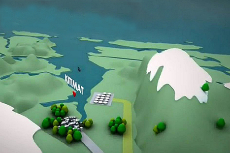 Enbridge stirs up controversy with depiction of waterway without islands | PR examples | Scoop.it