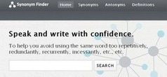 Educational Technology Guy: Synonym Finder - find some new words so you don't keep using the same ones | A New Society, a new education! | Scoop.it