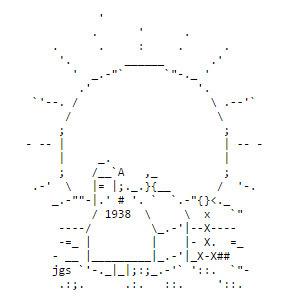 ASCII Art Sun - ascii-code.com | ASCII Art | Scoop.it