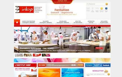 Le site inbp.com fait peau neuve  l INBP | Actu Boulangerie Patisserie Restauration Traiteur | Scoop.it