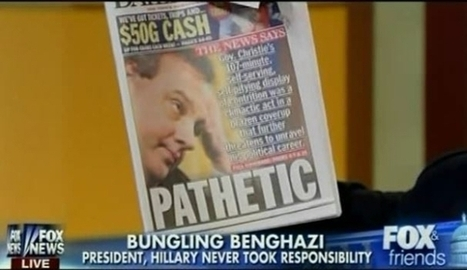 Fox: Where The Chris Christie Scandal Is Really Just About Benghazi | Daily Crew | Scoop.it