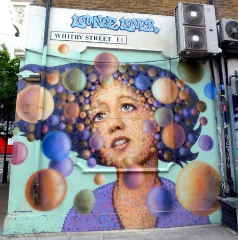 Jimmy.C sur Whitby Street, Shoredith - Londres - Street Art Avenue   Street Art   Scoop.it