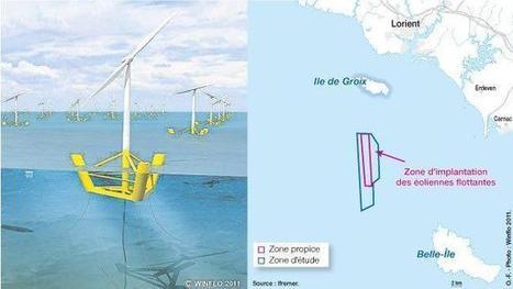 Éolien en mer. Le site de Groix retenu par le ministère | Eolien Offshore Projet baie de St Brieuc (22) | Scoop.it