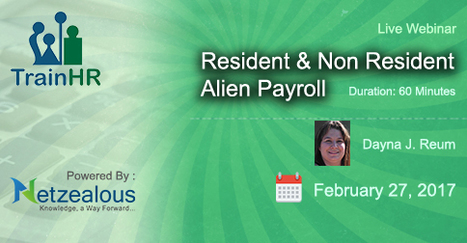 Resident & Non Resident Alien Payroll   How can HR prevent bullying by seniors at the workplace?   Scoop.it