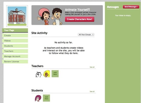 GoAnimate for Schools | Madares Al Ghad Education Technology | Scoop.it