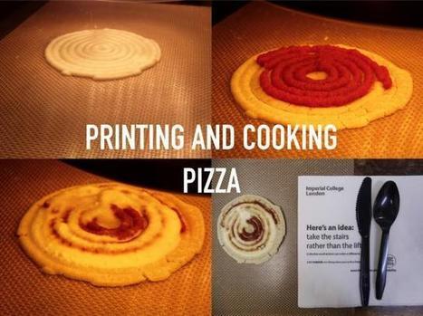 F3D, le robot de cuisine imprimante 3D   meltyFood   Impression 3D   Scoop.it